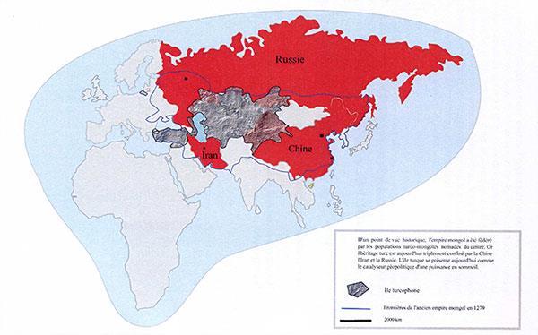 Китай, Иран, Россия: новая Монгольская империя? Поиск главенства и кибер-конфликты: геополитическое воссоединение в Центральной Азии