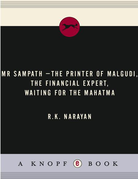 Книга: Mr Sampath-The Printer of Malgudi, The Financial Expert