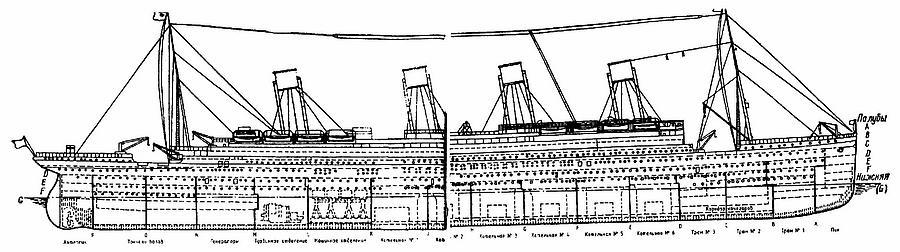 Книга: «Титаник».