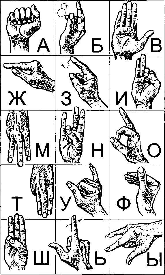 знаковые рисунки: