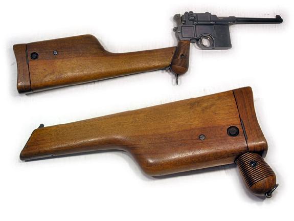 Описание Mauser C-96. Легендарный Маузер