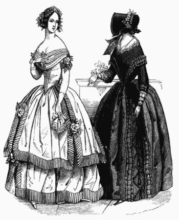 Платья англии 17 век