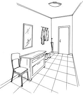 Книга: Новая прихожая, гостиная, спальня. Лучшие проекты по ...