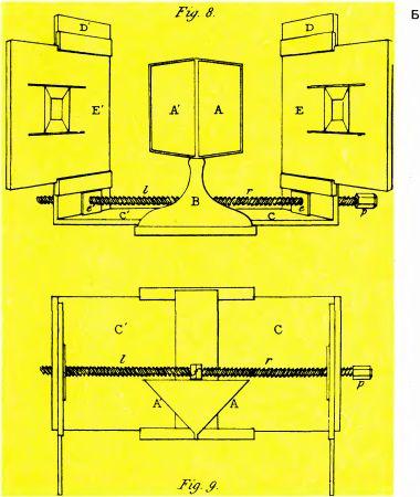 Схема стереоскопа Уитстона