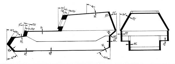 Схема бронирования САУ «