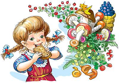 Рисунки к сказке лисичкин хлеб