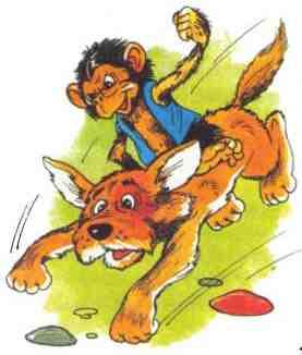 Рисунок обезьяны к рассказу