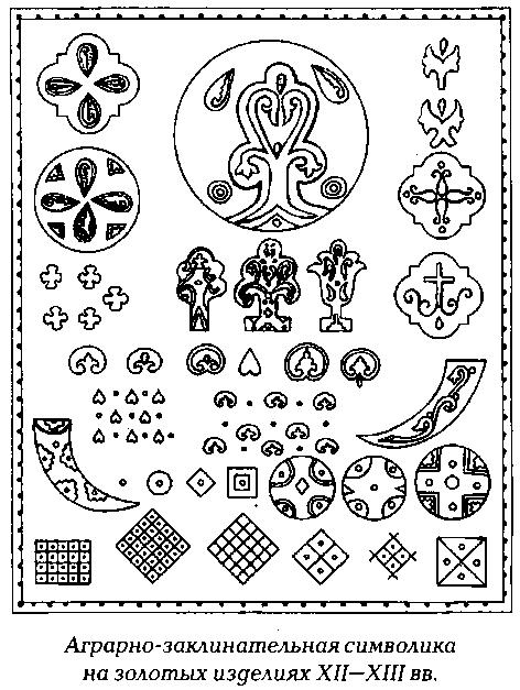 Показать древние русские знаки в виде круга