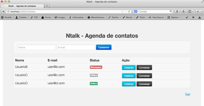 Node.js. Aplicacoes web real time com Node.js