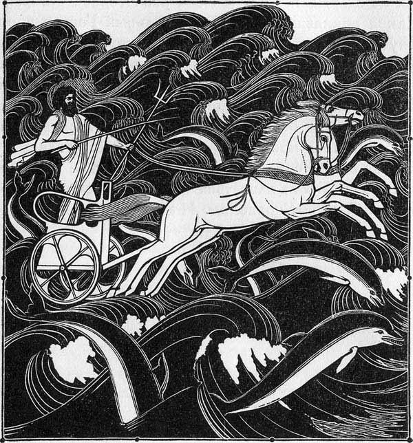 Зевс приведя и троянцев и гектора к