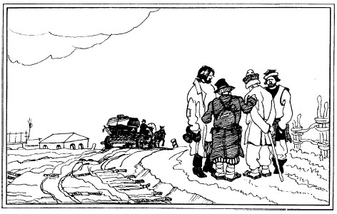 Путешествие из Петербурга в Москву (с иллюстрциями)