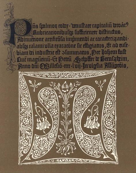 Йоханн Гутенберг и начало книгопечатания в Европе