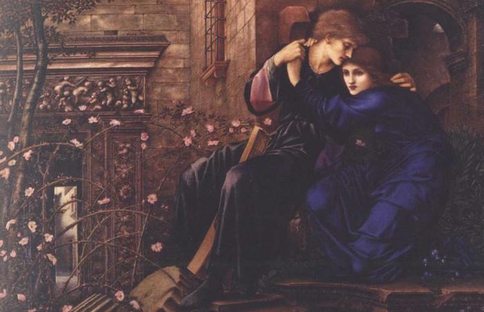 Поэтический мир прерафаэлитов