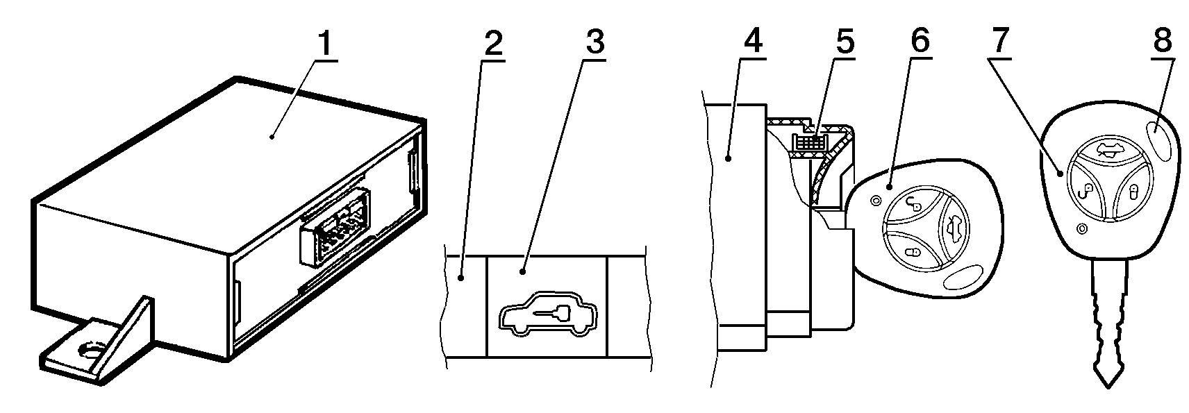 схема датчика кислорода ваз