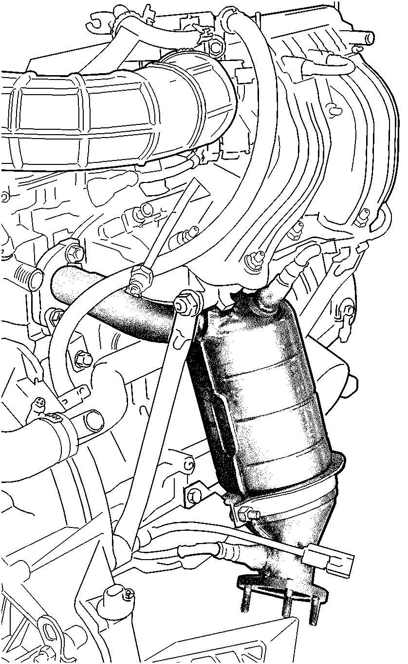 мл 163 2.7 подетальная схема двигателя 2004г