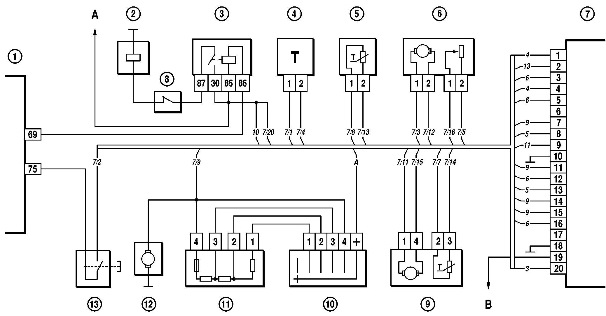 схема частотного генератора для промывки форсунок