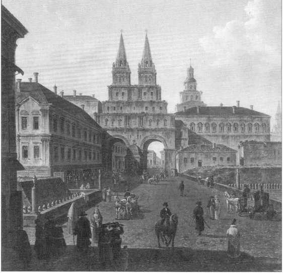 1812 год. Пожар Москвы