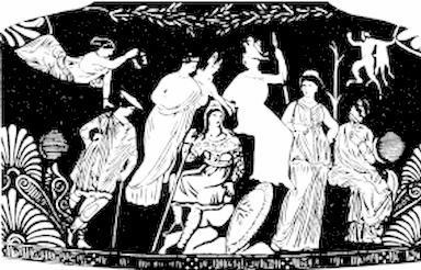 Сообщение о мифическом существе любого народа выполнен древнегреческого божества русалка