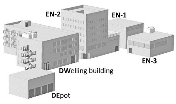 ... DWellingbuilding — житлова та адміністративна будівля  EN-1 —  першийінженерний корпус  EN-2 — другий інженерний корпус  EN-3 — третій  інженерний корпус f34d03c5ded47