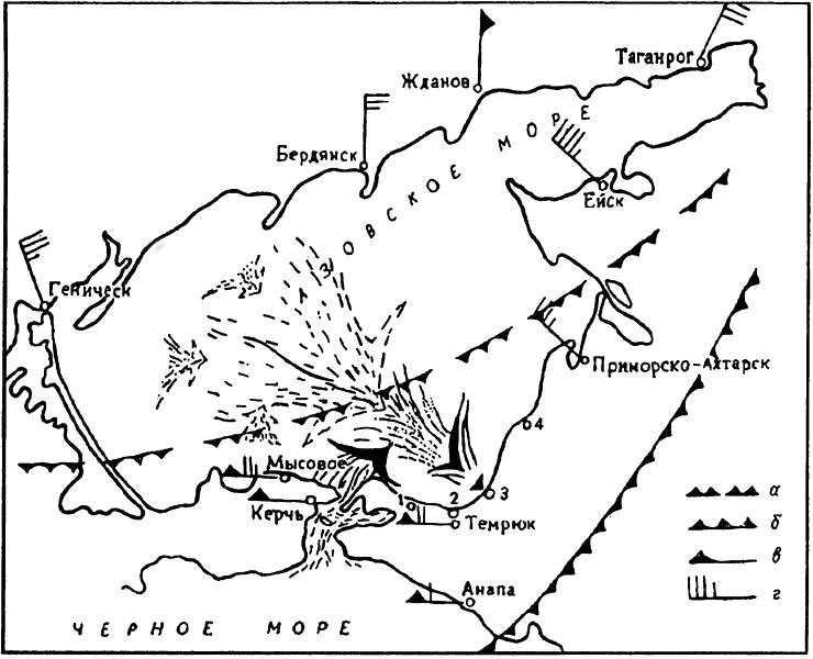 масс и Азовском море 28—29