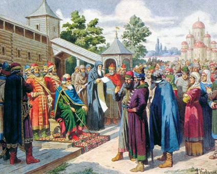 Государственные и духовные лидеры
