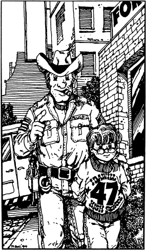 Забывчивый шериф
