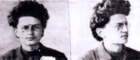 Троцкий и Махно