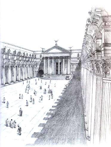 Один день в древнем Риме.
