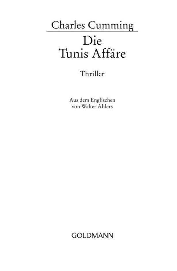 Книга: Die Tunis Aff