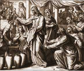 брак в кане галилейской евангелие от иоанна 21 11 библия в