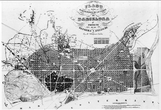 плана крупного города во