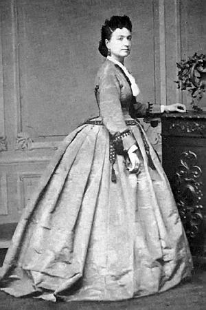 Платья 1860 года