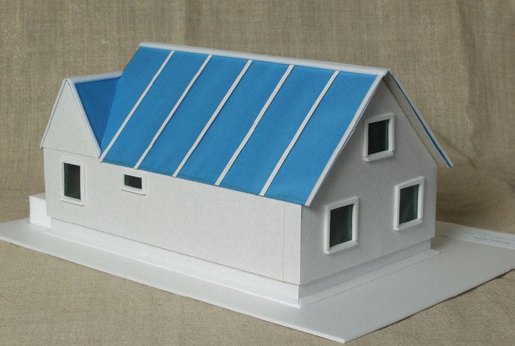 Детский макет дома из бумаги своими руками 27