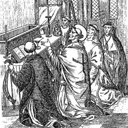 Член католического нищенствующего монашеского ордена