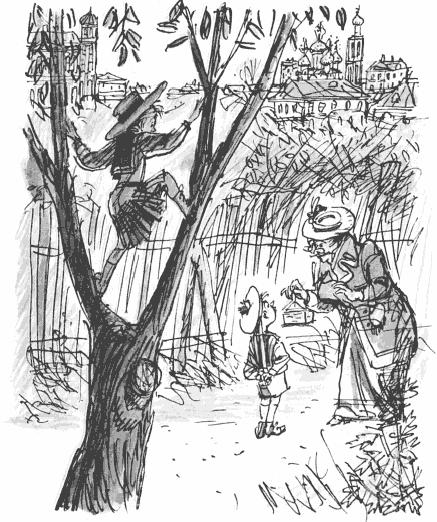 Рисунки зощенко бабушкин подарок 95