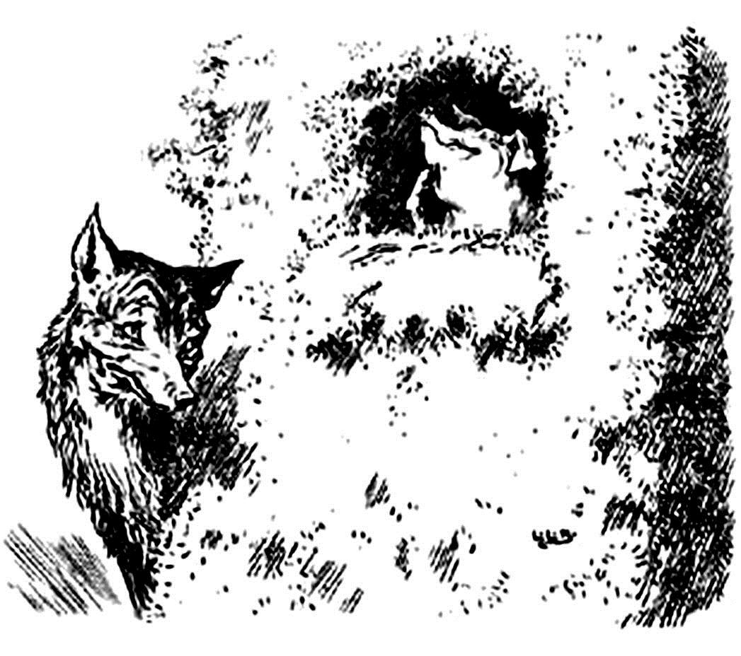 Мир в картинках. Волк и три поросенка