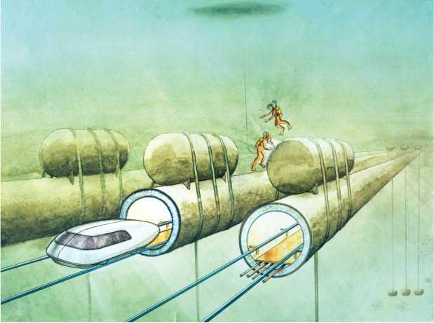 Струнные транспортные системы: на Земле и в космосе