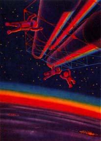 СССР Которого Не Было - в работах советских художников. Часть 1. Люди Грядущей Планеты