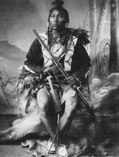 Индейцы подвязать член