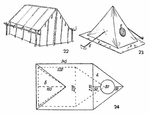 Чертежи палаток своими руками 14