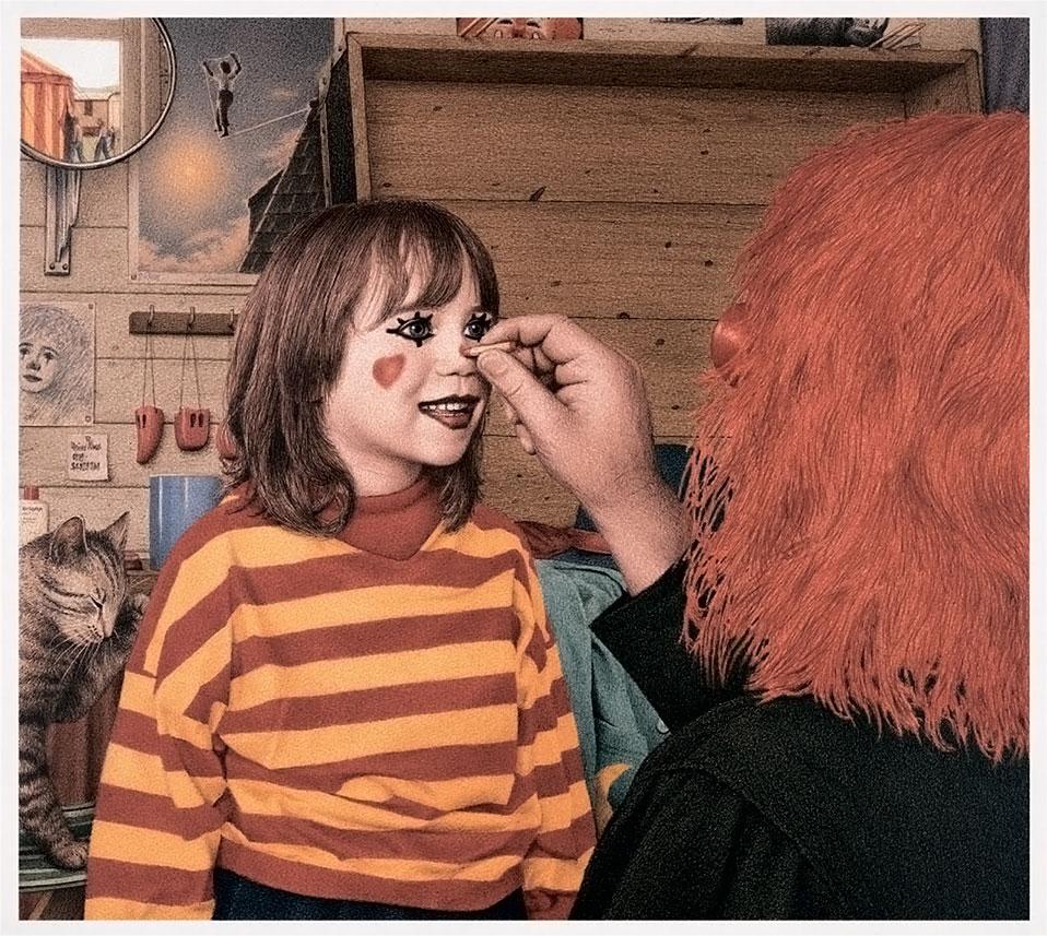 Сара и клоун