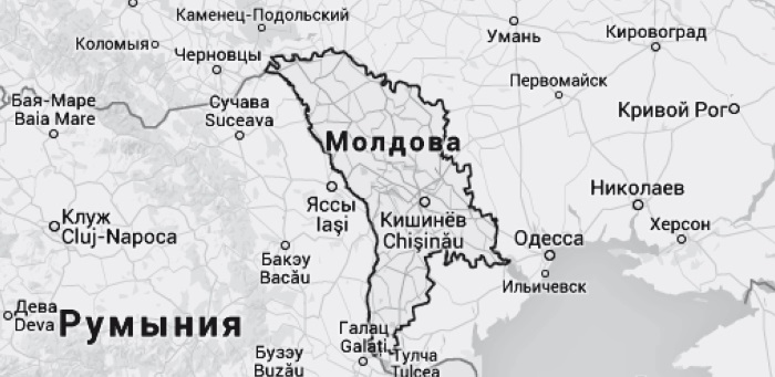 Карта моей памяти