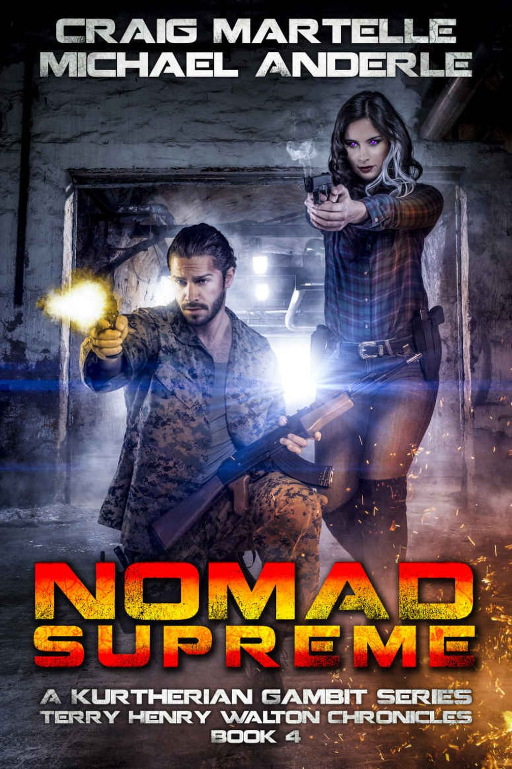 Nomad Supreme: A Kurtherian Gambit Series