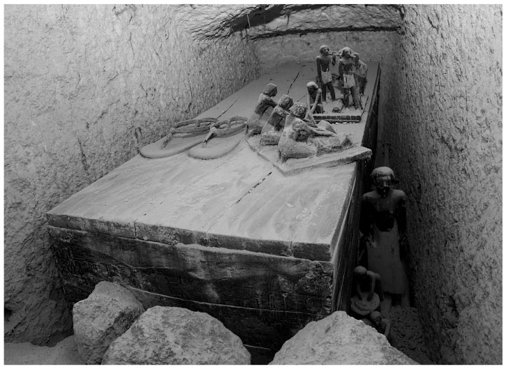 В поисках гробниц Древнего Египта
