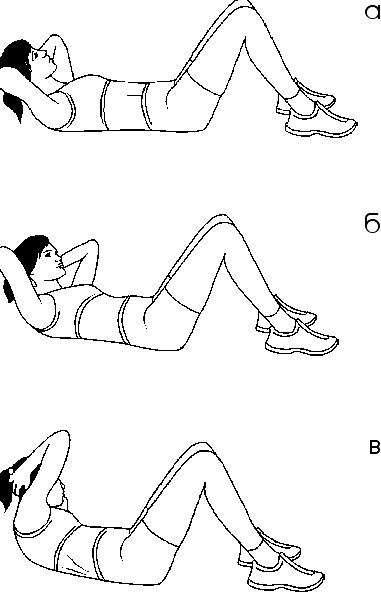 Тренируем мышцы живота и спины