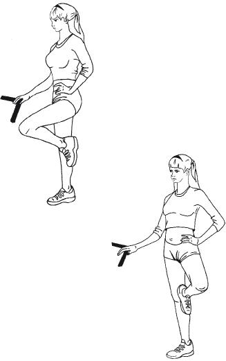 Тренируем мышцы ног и ягодиц