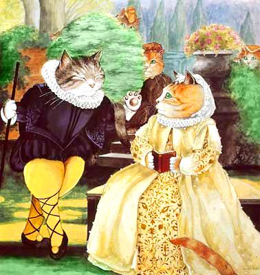 Популярная наука о кошках, написанная Старым Опоссумом