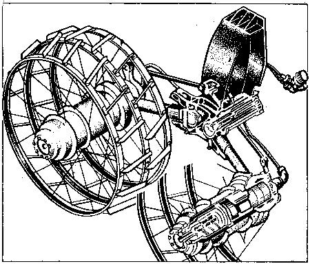 Схема устройства колеса «