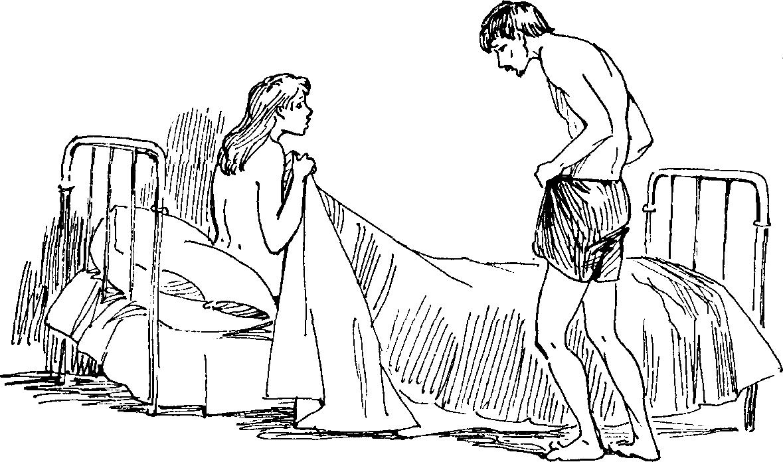 Рисунок зайчика тянущегося утро