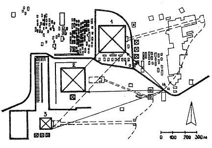 2 — пирамида Хефрена